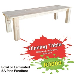 IB - Dinning Table 250x250