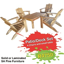 IB - Patio Deck Set 250x250